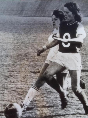 Anne O'Brien, a revolutionary football figure but who remains largely unheralded.