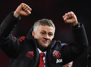 United boss Solskjaer.