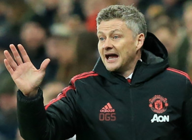 Ole Gunnar Solskjaer has settled in nicely at Old Trafford.