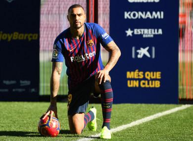New Barcelona signing Kevin-Prince Boateng.