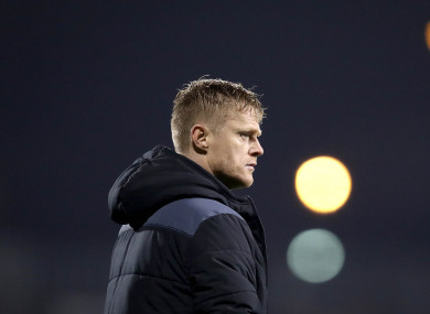 The Dubliner began his coaching apprenticeship at Shamrock Rovers.