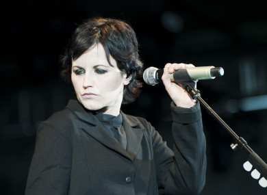 Cranberries singer Dolores O'Riordan died at the ago of 46 last year