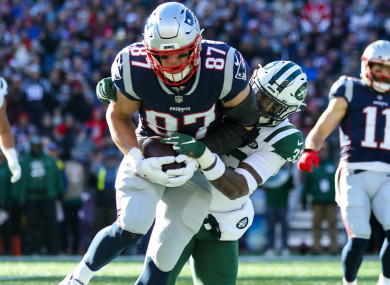 Rob Gronkowski: ready for post season.