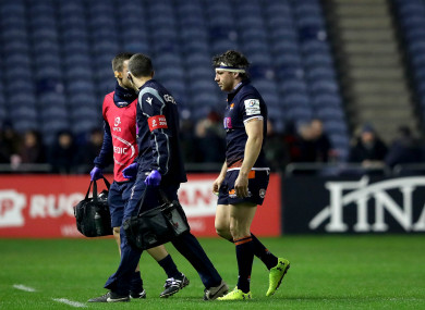 Watson sustained the injury during Edinburgh's defeat of Montpellier.