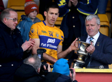 Early season silverware for the Clare footballers.