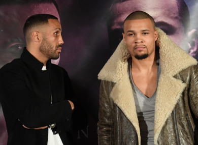James DeGale and Chris Eubank Jr will square off on 23 February.