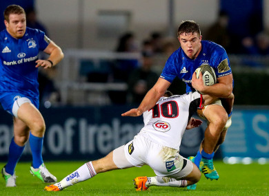 Scott Penny in action for Leinster during their Pro14 clash with Ulster earlier this month.