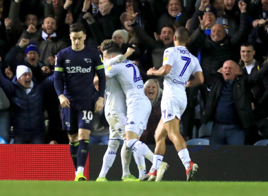 Leeds' lead is now five points at the top of the Championship.