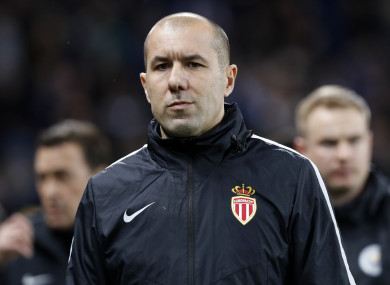 Jardim is back in the Monaco hot seat.