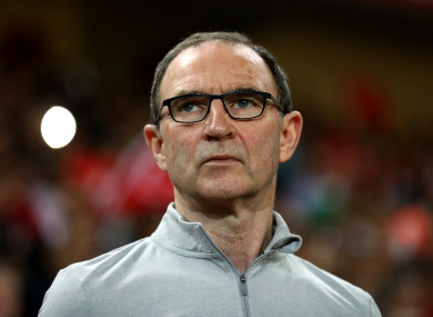 Martin O'Neill spent five years in charge of Ireland.