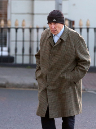 Retired surgeon Michael Shine arriving at the Central Criminal Courts in Dublin.