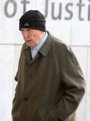 Retired surgeon Michael Shine arriving at the Central Criminal Courts