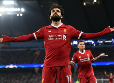 Salah has won African Player of the Year in 2017 and 2018.