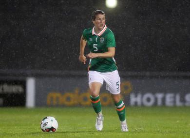 Niamh Fahey has won 80 caps for Ireland.