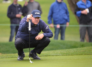 Mickelson flirted with a rare 59.