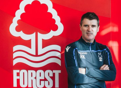 Roy is back at Forest.