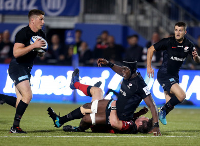 Saracens have booked their place in the quarter-finals.