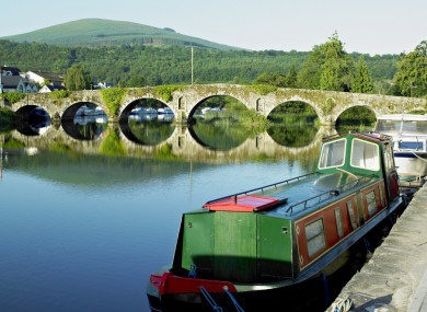 Graiguenamanagh, County Kilkenny - one of the areas receiving funding.