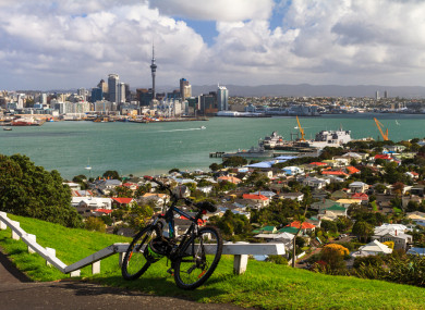 The family allegedly caused chaos in the city of Auckland