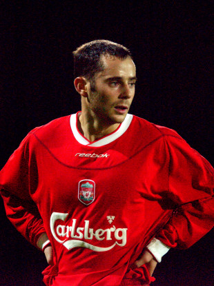 Richie Partridge made three senior appearances for Liverpool in the League Cup during the early 2000s.