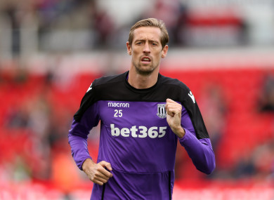 Peter Crouch, Stoke City.