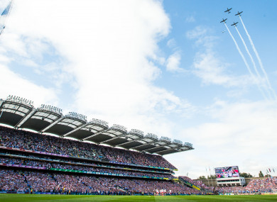 A view of Croke Park on 2018 All-Ireland final day.