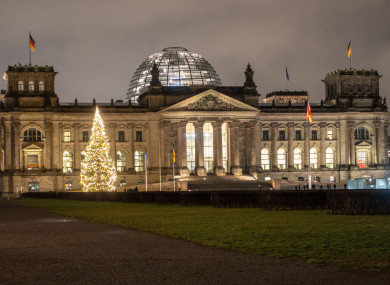 The Reichstag Building, home of the German parliament