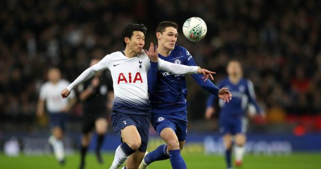As it happened: Tottenham vs Chelsea, Carabao Cup semi-final first leg