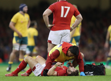 Leigh Halfpenny hasn't featured since Wales' November Test versus Australia.