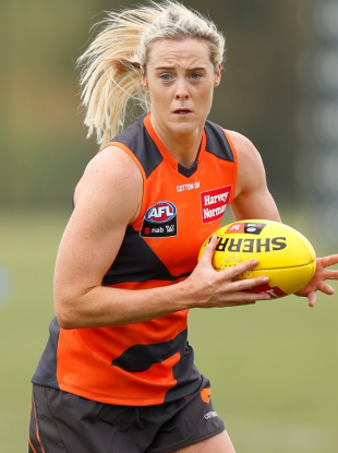 Starting: Donegal and GWS Giants star Bonner.