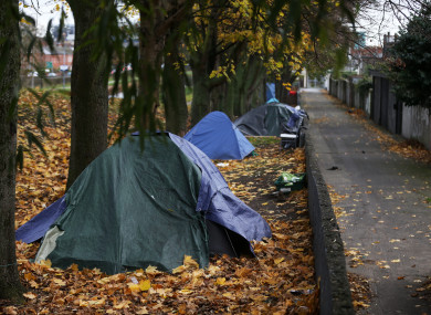 Rising rents and lack of social housing has driven up homelessness