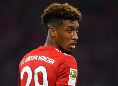Kingsley Coman has been declared fit to face Liverpool.