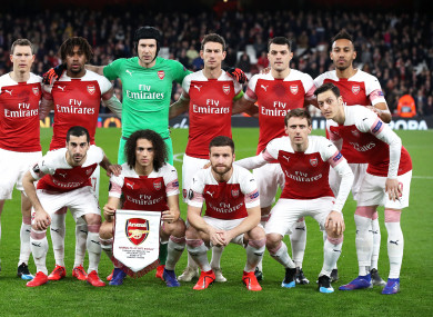 Arsenal overcame BATE to reach the Europa League round of 16.