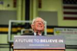 Democratic presidential candidate Bernie Sanders in 2016.