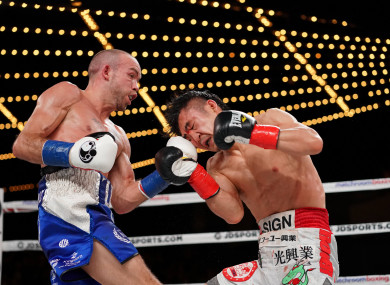 TJ Doheny Defeats Ryohei Takahashi by 11th Round TKO at the Hulu Theater in Madison Square Garden.