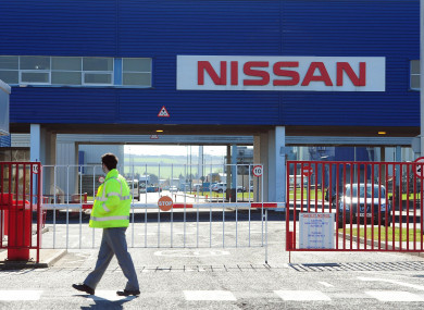 File photo of the Nissan factory in Sunderland.