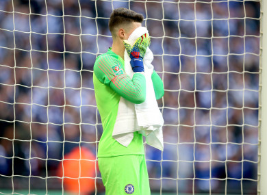 The Blues were defeated on penalties against Man City.
