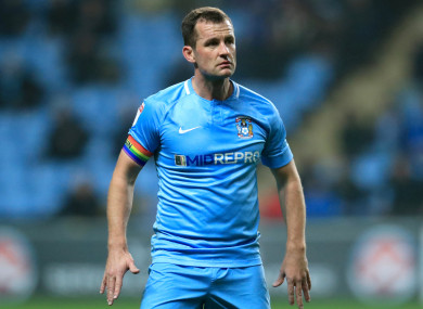 Michael Doyle has left Coventry for Notts County.