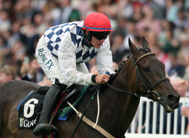 Looking good: Rathvinden ridden by Paul Townend. (File pic)