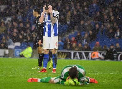 It was another difficult night for Duffy and Brighton.