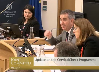 The Oireachtas Health Committee in session this morning