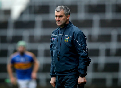Tipperary manager Liam Sheedy.