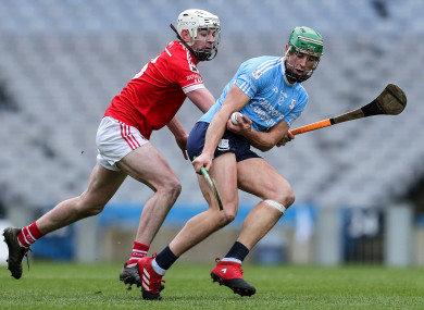 Niall Burke shot the lights out for Oranmore-Maree.