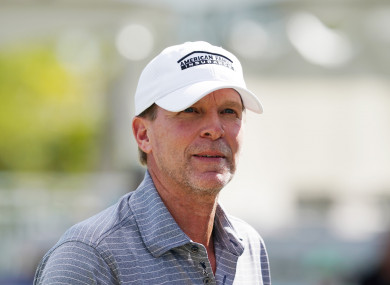 The favourite to be the next US Ryder Cup captain - Steve Stricker.