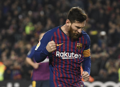 super popular 3aa9a bcc41 Messi is the only genius in world football', says ex-Real ...