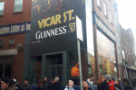 Locals gather at Vicar Street in Dublin