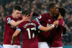 Controversial Hernandez strike helps West Ham push Fulham closer to relegation trapdoor