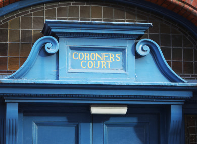 A file photo of Dublin Coroner's Court.