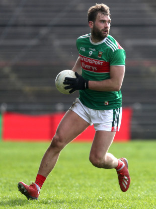 Aidan O'Shea is aiming for league glory with Mayo this weekend.