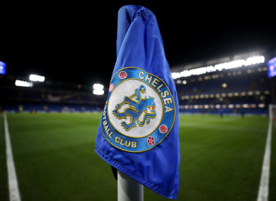 A general view of Chelsea Football Club.